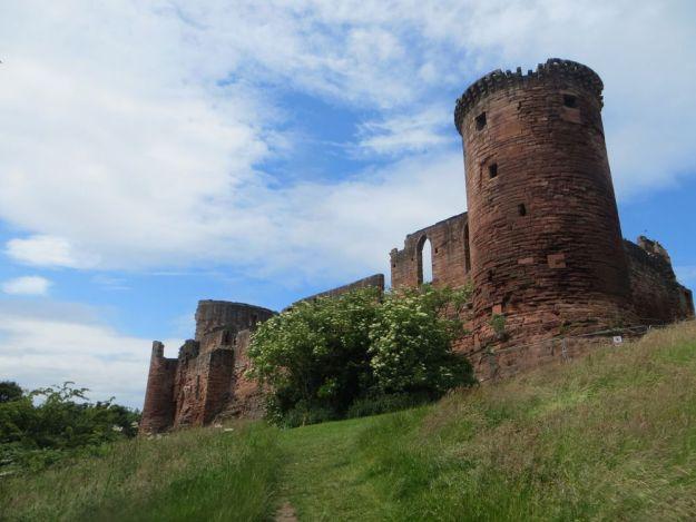 castillo de bothwell, escocia