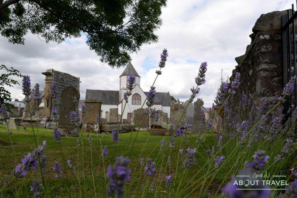 iglesia de lauder, borders de escocia