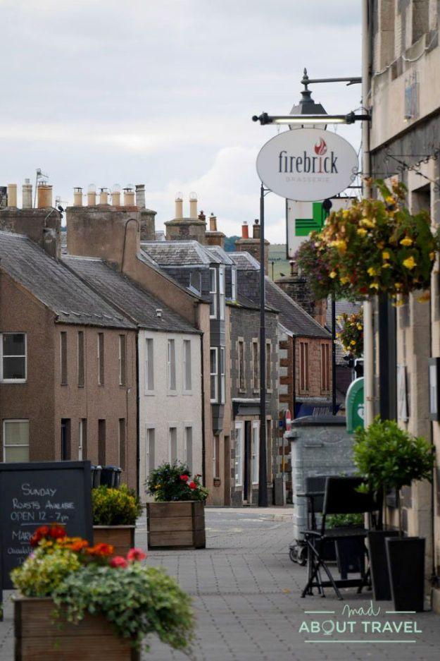 centro histórico de lauder, en los borders de escocia