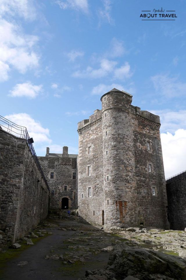 localizaciones del rodaje de outlander en escocia: castillo de blackness