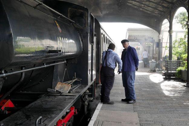 localizaciones del rodaje de outlander en Escocia: bo'ness and kinneil railway