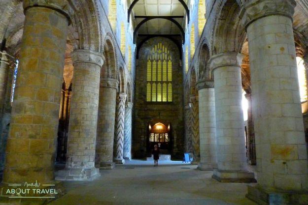 que ver en dunfermline: abadía de dunfermline