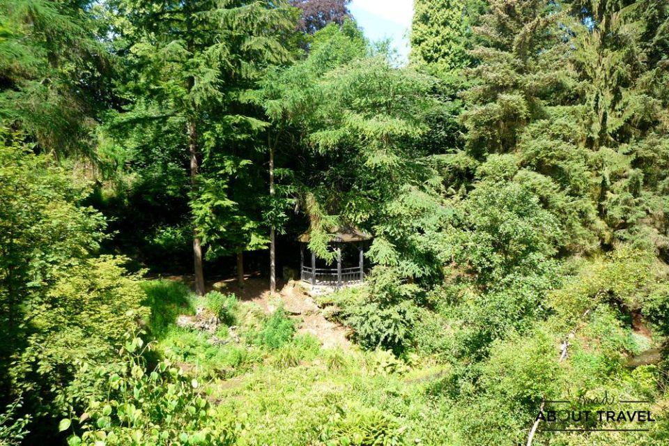 que ver en dunfermline: pittencrieff park