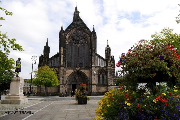 localizaciones del rodaje de outlander en Escocia: catedral de glasgow