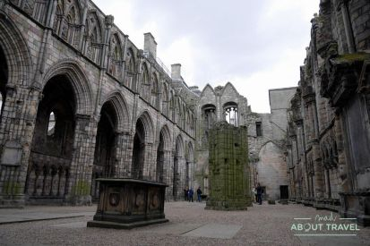 abadía de holyrood en edimburgo