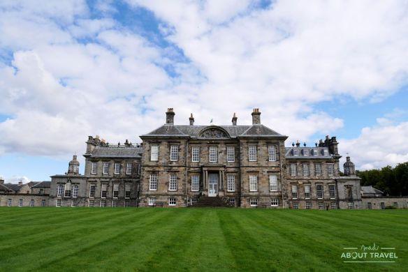 localizaciones del rodaje de outlander en escocia: hopetoun house