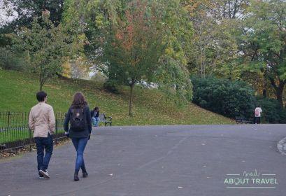 localizaciones de Outlander en Glasgow: parque de kelvingrove