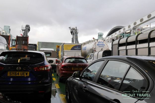 ferry de ullapool a stornoway, en la isla de lewis