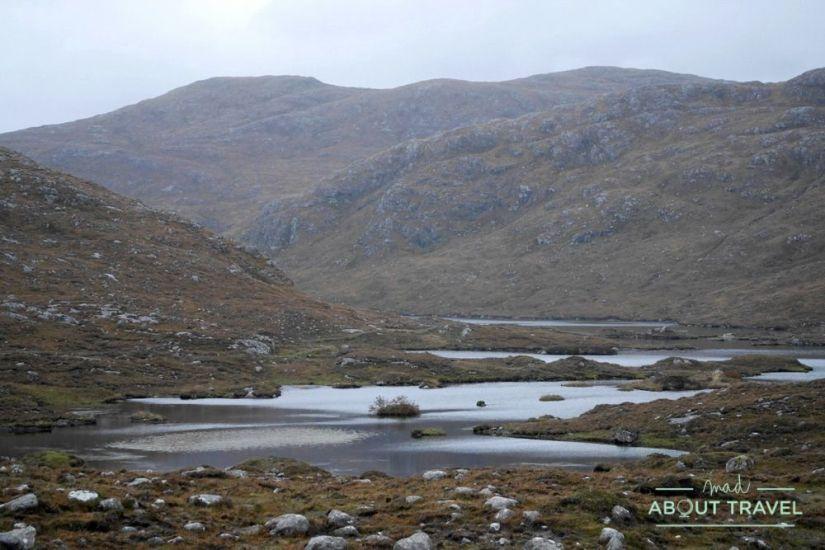 paisajes de la isla de lewis, islas hébridas de escocia
