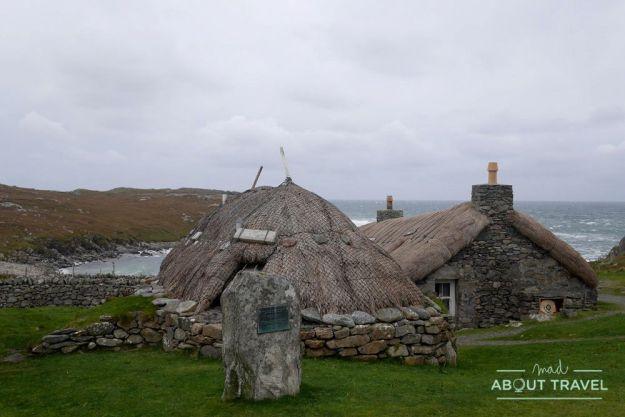 que ver en la isla de harris: Gearrannan blackhouse village