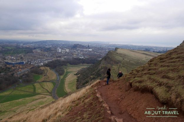 que hacer en Edimburgo gratis: arthur's seat