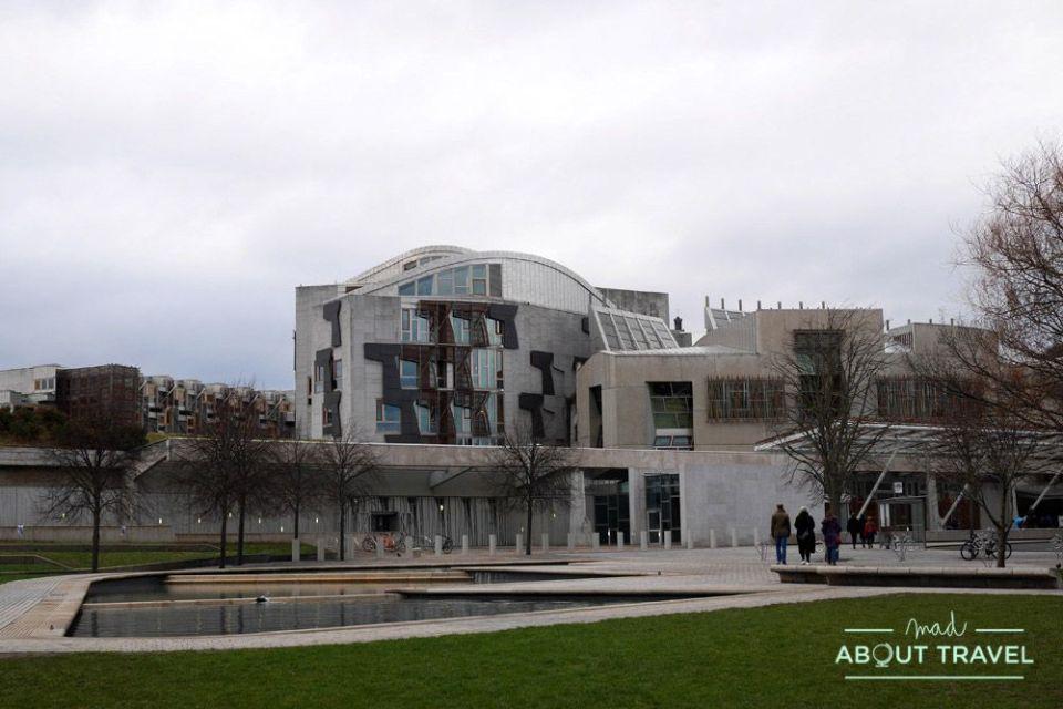 que ver en edimburgo gratis: Parlamento Escocia