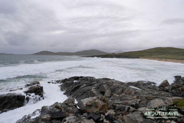que ver en la isla de Harris: playa de Borve