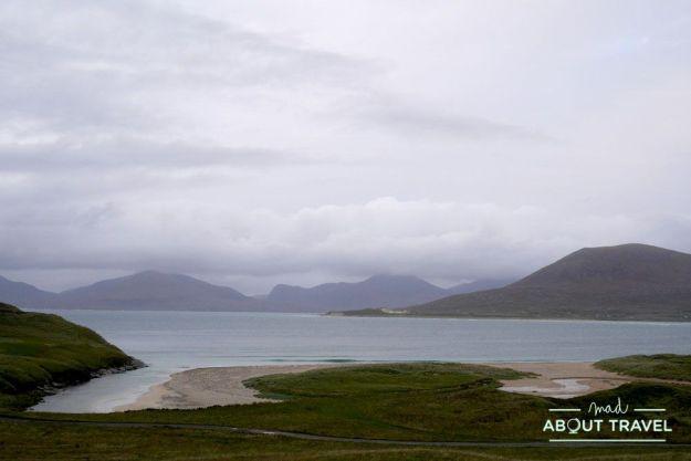 que ver en la isla de Harris: playa de Horgabost