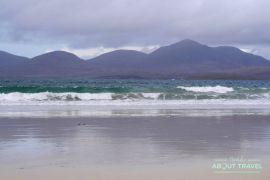 que ver en la isla de harris: playa de luskentyre