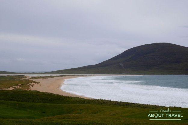 que ver en la isla de Harris: playa de Scarista