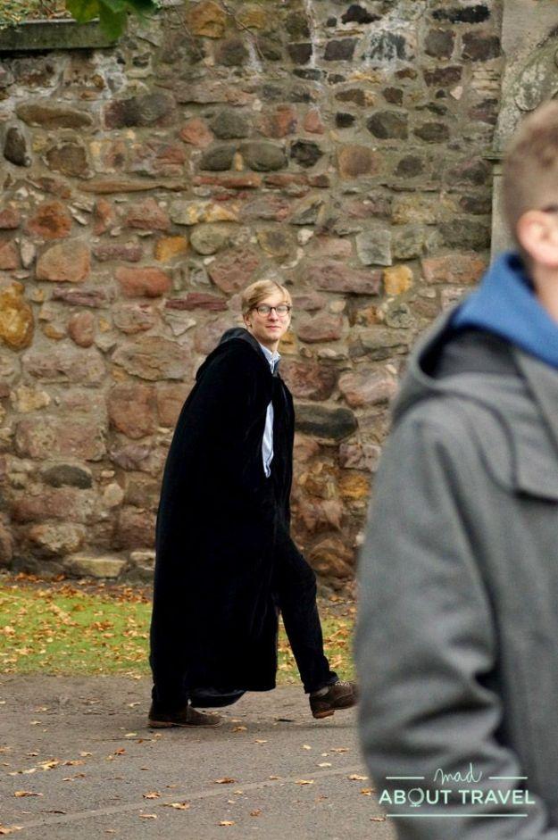 que hacer gratis en Edimburgo: tour harry potter