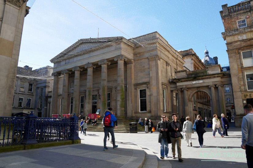 que ver en glasgow gratis: merchant city