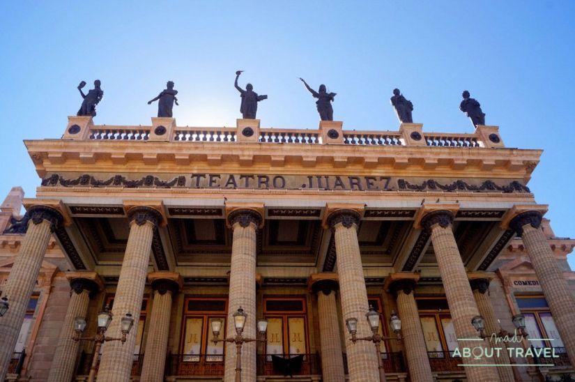 que ver en guanajuato: teatro juárez
