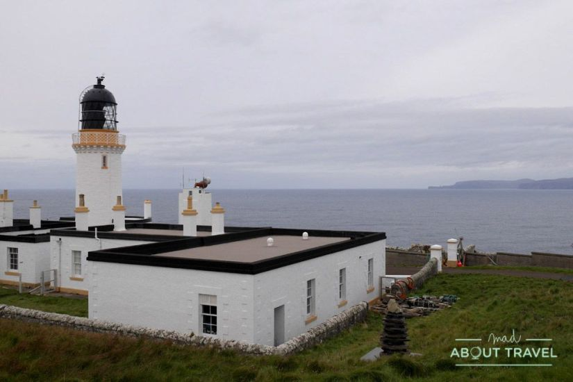 Faro de Dunnet - Ruta North Coast 500 Escocia