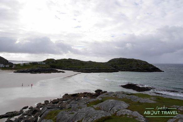 Playa de Achmelvich - Ruta North Coast 500 Escocia