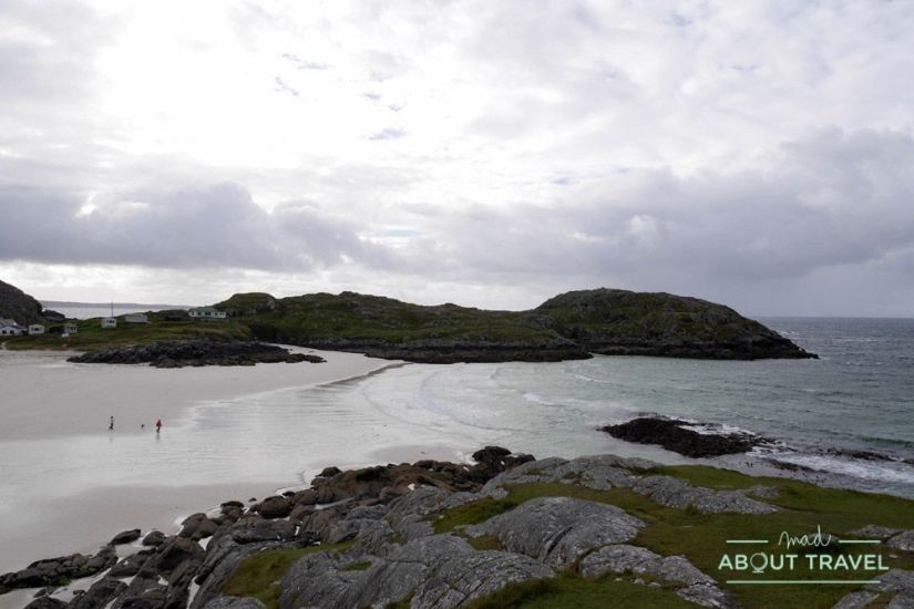 Playa de Achmelvich - Ruta North Coast 500 Escocia