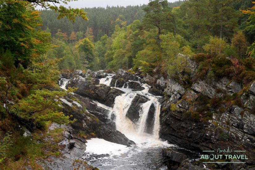 Rogie Falls - Ruta North Coast 500 Escocia