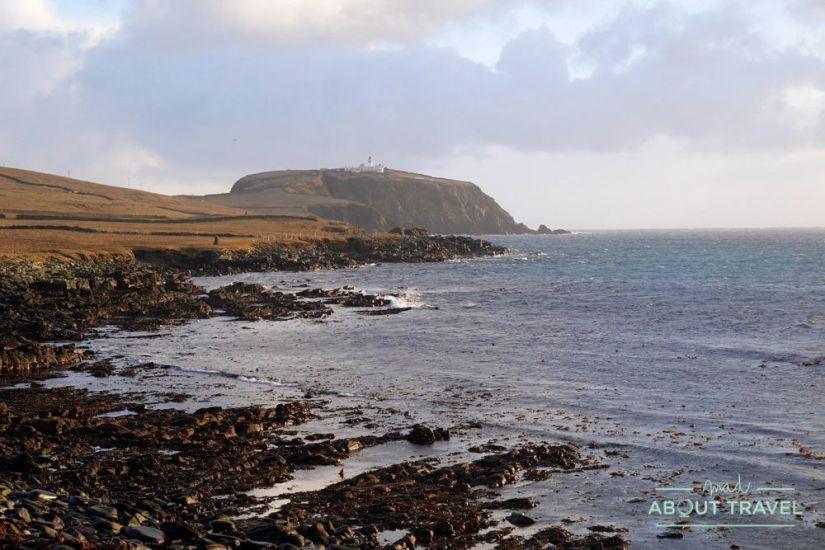 que ver en shetland - cabo y faro de sumburgh