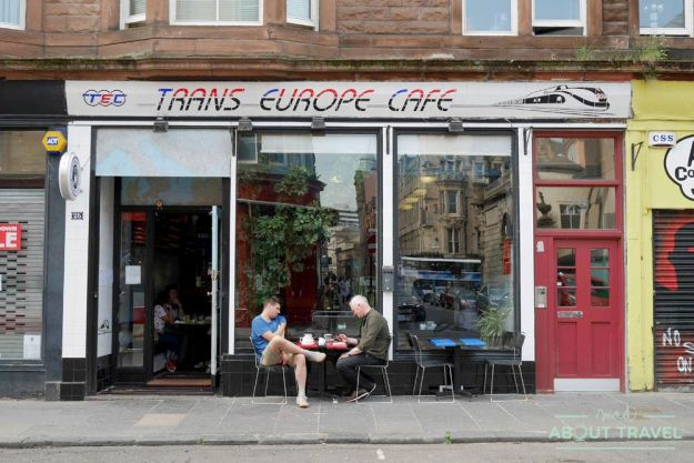 donde comer en Glasgow: Trans-Europe cafe