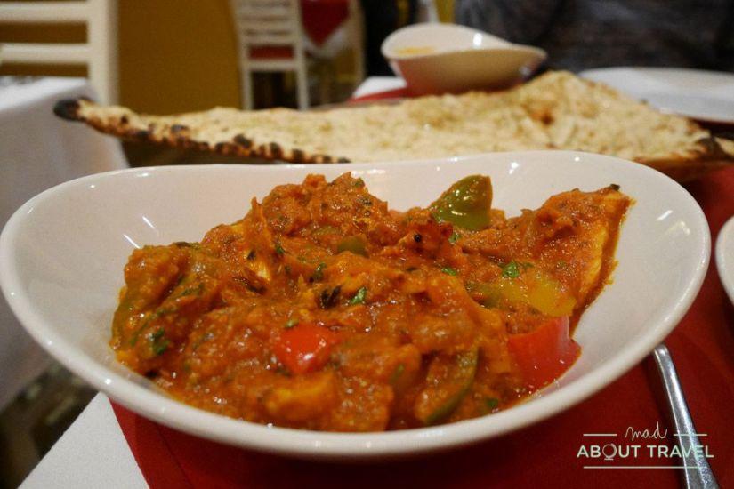 donde comer en glasgow: masala twist