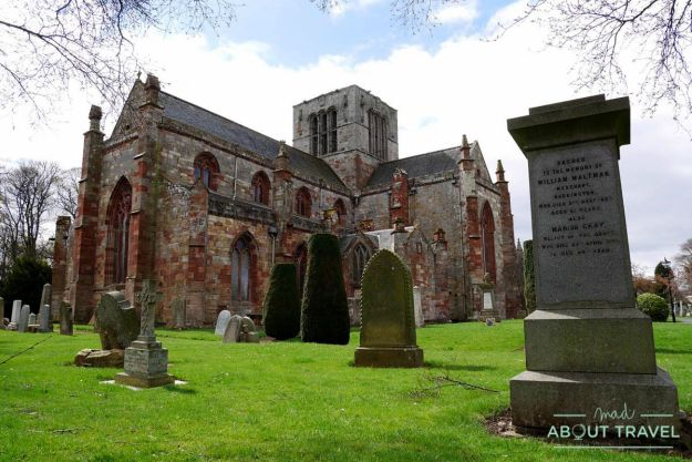 que ver en east lothian: st mary's kirk en east lothian