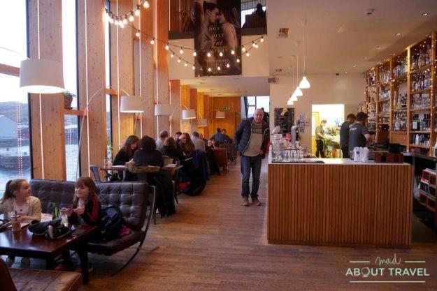 donde comer en Lerwick: Mareel