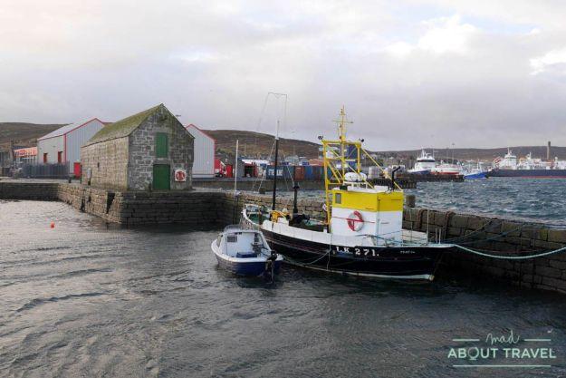 que ver en Lerwick: Hay's dock