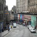 Edinburgh Music Tours: calle Victoria Street Edimburgo
