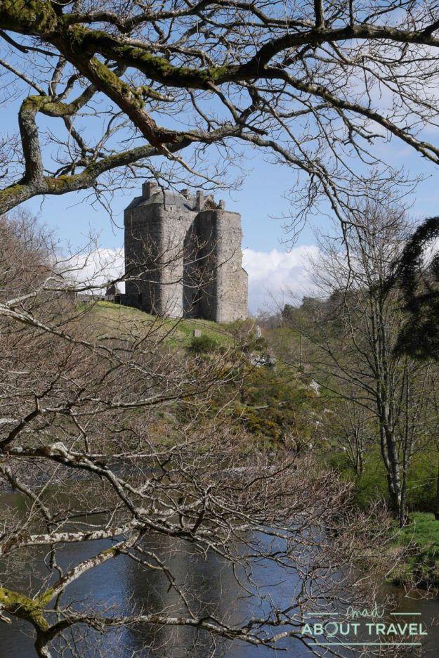 castillo de Neidpath, Borders de Escocia