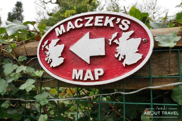 Great Polish Map of Scotland, Borders Escocia