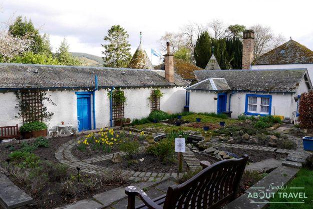 Pueblo de Innerleithn, Borders de Escocia