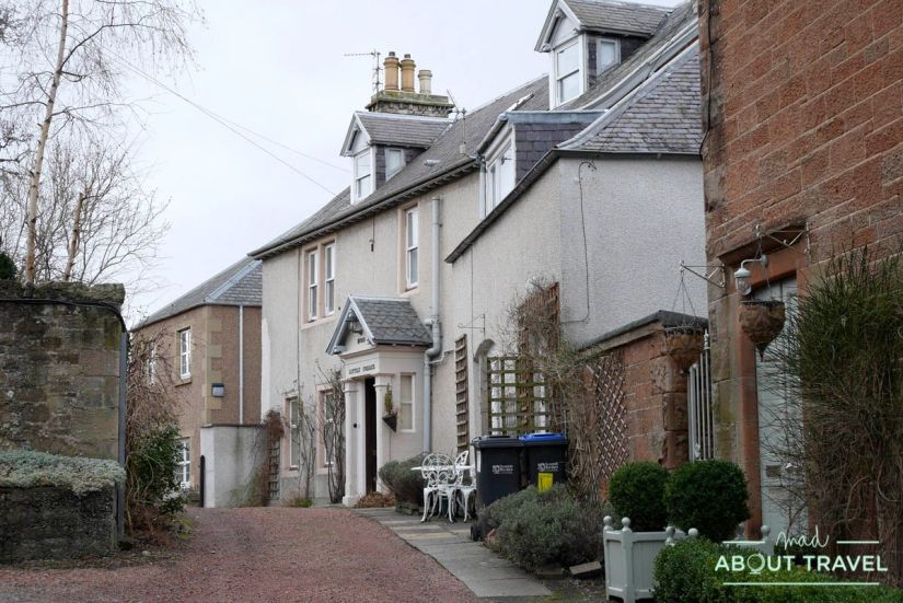 Pueblo de Melrose, Borders de Escocia