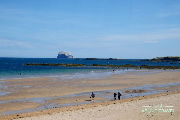 que ver en east lothian: bass rock