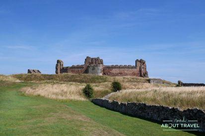 ruta en bus por east lothian: castillo de tantallon