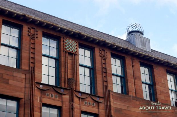ruta de mackintosh Glasgow: Scoltand Street School