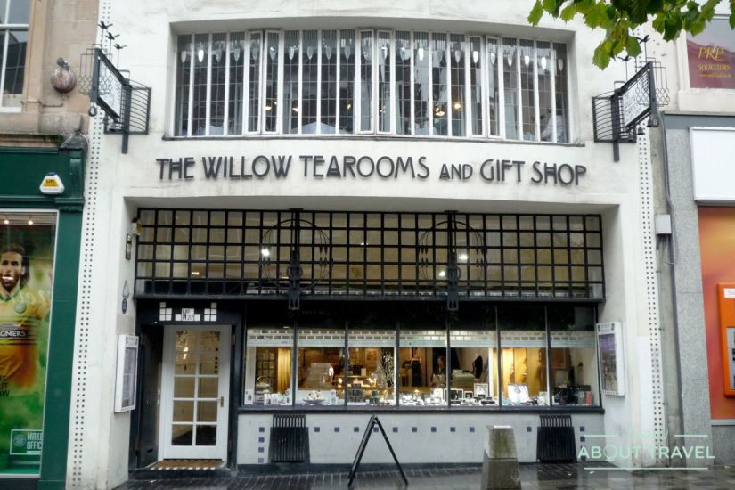 ruta de mackintosh Glasgow: Mackintosh at the Willow