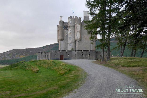 ruta de los castillos de aberdeen: castillo de braemar