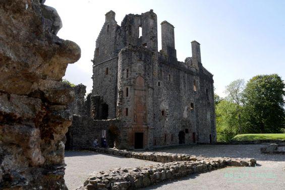 ruta de castillos de aberdeen: castillo de huntly