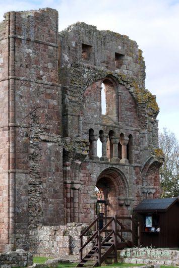 Priorato de Lindisfarne en la Holy Island, Northumberland