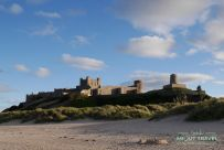 playa de bamburgh, northumberland