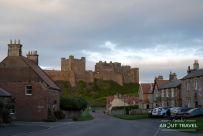 castillo de bamburgh, northumberland