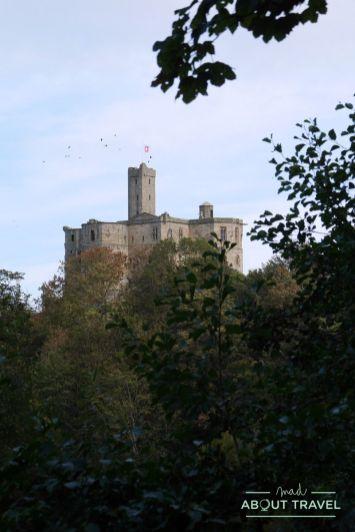 castillo de warkworth, northumberland