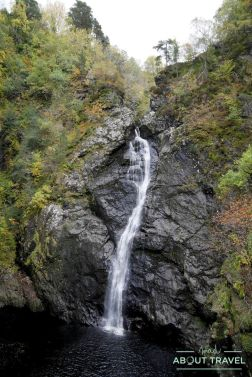 ruta senderista falls of foyers inverness