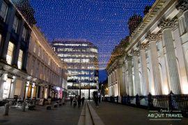 que ver en glasgow en navidad: decoración y luces